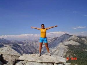 Abraçando o Mundo: Half Dome Yosemite park - CA SomosdoMundo