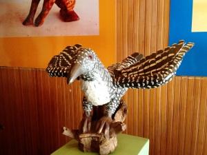 Artesanato exposto no museu SomosdoMundo