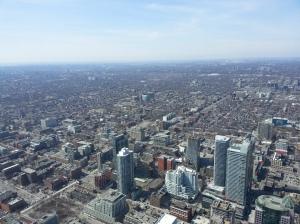 Toronto vista da CN Tower SomosdoMundo
