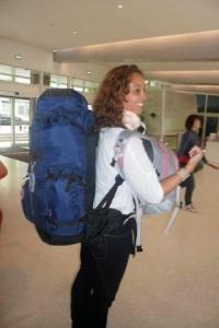 Eu e as mochilas SomosdoMundo