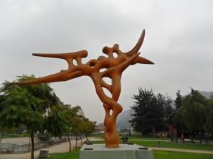 Obras de Arte  pelo Bairro Providencia - Santiago SomosdoMundo