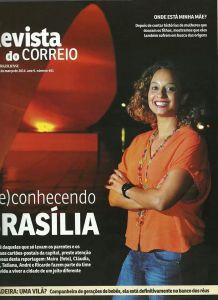 Capa Revista Jornal Correio Brasiliense SomosdoMundo