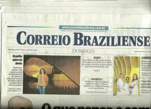 Capa principal Jornal Correio Brasiliense SomosdoMundo