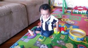 Levando brinquedos pro Cauã se sentir em casa SomosdoMundo