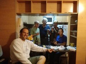 Apto de Santiago e companheiros de Viagem SomosdoMundo